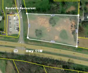 2.772 Acre Commercial Lot- Church Hill, TN